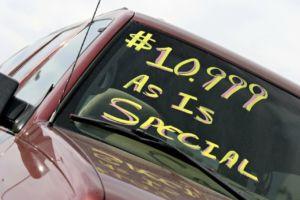 car buying myths